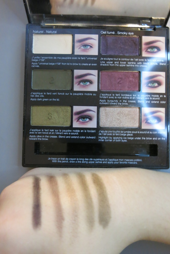 Sephora_palette_yeux_verts_swatch_leluxedaxelle